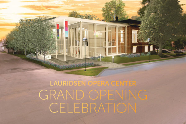 Lauridsen Opera Center - Grand Opening Celebration thumbnail