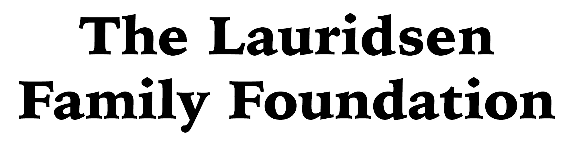 Lauridsen Family Foundation